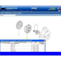 Platô Disco Luck D Embreagem Ranger 2.5 Motor Maxion Diesel