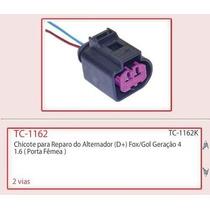 Tc1162 - Chicote Reparo Do Alternador (femea) Fox Gol G4 G5