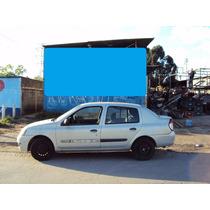 Motor Parcial Renault Clio Scenic 1.6 16v Flex Ano 05 A 12