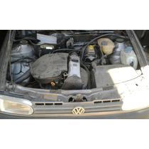 Motor Parcial Gol Mi 1.0 8v 99 ( Sucata De Leilão Combaixa )