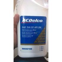 Oleo 5w30 100%sintetico Original Gm - Ac Delco