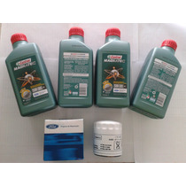 Kit Troca Oleo Castrol Magnatec 5w-30 A5 Sn Ford Sintetico