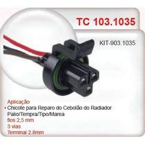 Conector (chicote) Cebolão Radiador Palio/tempra/tipo Tc1035