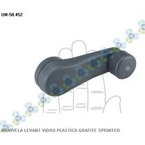 Manivela Levantador Vidro Grafite Sprinter - Universal