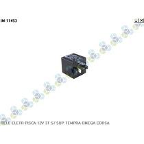 Rele Eletrico Pisca 12v 3t S/ Suporte Tempra Omega Corsa