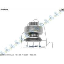 Impulsor Bendix Motor Partida Peugeot 106 205 206 306 - Zen