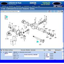 Semi Eixo Esq D Diferencial Tras D Ranger 01a07 1 Ton