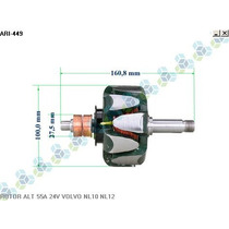 Rotor Para Alternador Volvo Chassi Ônibus B12 01/96 - Arielo
