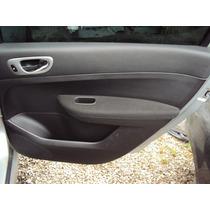 Forro De Porta Traseiro Direito (s/ Acessorios) Peugeot 307