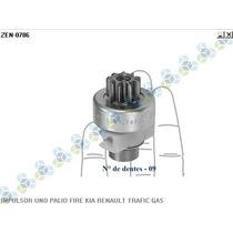Impulsor Bendix Motor Partida Uno Fire 45 - Zen