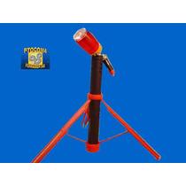 Luz De Emergência/sinalizador Recarregável 12 V Frete Grátis