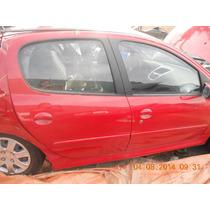 Maquina De Vidro Traseira Direita Peugeot 207 1.4 2013