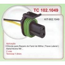 Chicote Reparo 2 Vias Lamp Farol Milha Astra Vectra 99 #1049