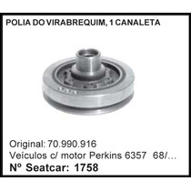 Polia Do Virabrequim - Chevrolet Motor Perkins 6357