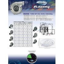 Turbina Masterpower Racing Refrigerada Agua R494 .50 Refluxo
