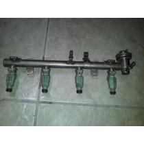 Flauta Com Bico Injetor Gol 1.0 16v Turbo 0280156054