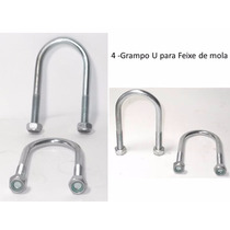 4 - Grampo U Para Feixe De Mola - Carretinha Reboque