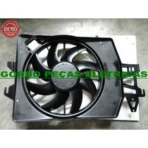 Defletor + Motor Da Ventoinha + Hélice Escort Zetec