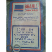 Jogo De Juntas Carburador Dfv Opala Ss 4