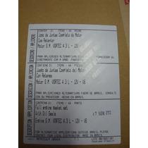 Jogo Juntas Motor Gm 262 Vortec 4.3l 12v V6 Com Retentores