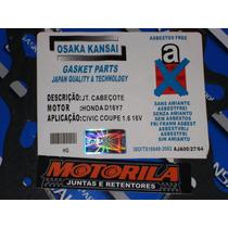 Junta Cabeçote Honda Civic 1.6 16v Amianto Com 1,4mm Altura