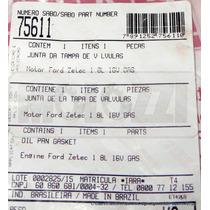 Junta Tampa Valvulas Ford Escort/focus/mondeo 1.8 16v Gasoli
