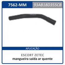 Mangueira D.agua Ar Quente Escort 1.8 16v Ford 93ab18d355cb