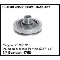 Polia Do Virabrequim - Chevrolet Motor Perkins 6357