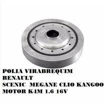 Polia Virabrequim Scenic Clio Megane Kangoo 1.6 16v K4m Nova
