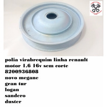 Polia Virabrequim Renault Megane Novo 1.6 16v 8200936808