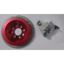 Polia Roda Fônica Vermelha Unique Vw Ap 8v Similar Fueltech