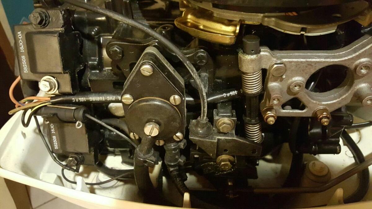 Motor Popa Johnson 25 Hp Estado De Zero Em Mercado Livre