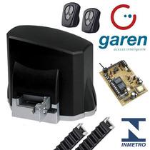 Kit Motor De Portão Eletrônico Deslizante Kdz Garen 1/4 Hp