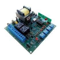 Central P4000-blue Ppa 4 Trimpots C/ Embreagem 433mhz Ipec