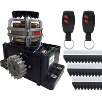 Kit Motor Portão Eletrônico Omegasat 1/4 + Kit Instalação