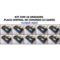 Kit 10 Com Placas Central De Comando G3 Garen Unisystem Seg