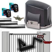Kit Motor Semi Industrial Portão Deslizante Garen Base Aerea