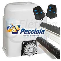 Kit Automatizador De Portão Motor Peccinin Light Turbo 1/3hp