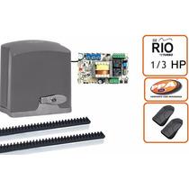 Kit Motor Ppa Portão Eletrônico Deslizante Ppa Dz Rio 1/3 Hp