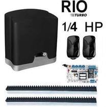 Kit Motor P/ Portão Dz Rio Turbo 1/4 Hp 110 Volts Marca Ppa