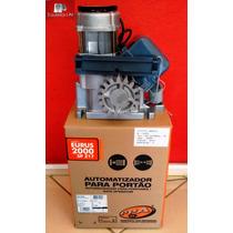 Kit Motor De Portão Deslizante Industrial 2000kg Ppa Eurus