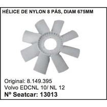 Helice Do Radiador Caminhão Volvo Nl-12 Nl-10