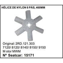 Helice Do Radiador Vw Caminhao 7-120 8-120 8-140 6 Pás 460mm