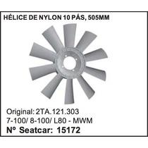 Helice Do Radiador Vw Caminhao 7-100 8-100 L-80 Mwm 505mm