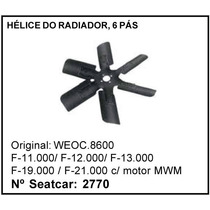 Helice Do Radiador 6 Pás F-1100 F-12000 F-13000 Ford