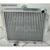Radiador Alumínio Ford Maverick Todos Aspirado V8 Gt