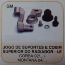 Jg Sup E Coxim Sup Radiador Esq Corsa 02/... Montana 04/...