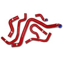 Mangueiras De Silicone Vermelha Honda Civic E Crx Kit 6 Pçs