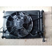 Kit Conjunto Radiador Condensador Ventoinha Hyundai I-30