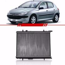 Radiador Peugeot 206 2001 Até 2008 307 Citroen Xsara Com Ar